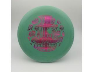 Classy Basket Wizard - Green - SS - Magenta Foil Stamp