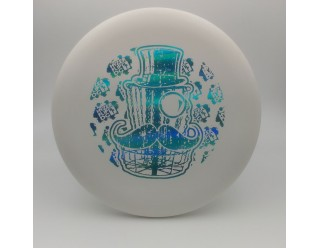 Classy Basket Wizard - White - PWP -  Cyan Foil Stamp