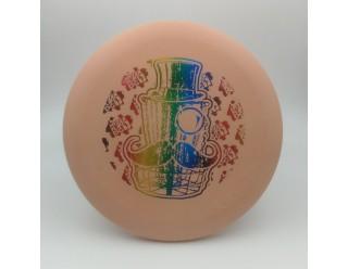 Classy Basket Wizard - Peach - Eraser- Rainbow Foil Stamp