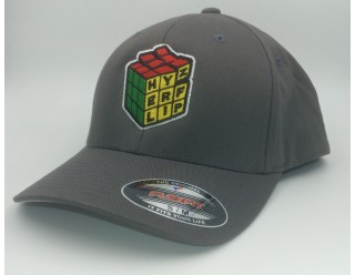 HF Cube Embroidered Cap - Grey Flexfit