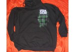 HF Plaid -  Black Hoodie