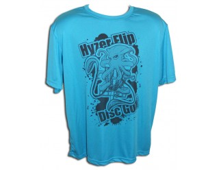 HF Squid Ink - Neon Blue Performance Shirt