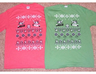 Mario Ugly Sweater T-Shirt