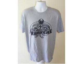 HF Krakens Logo - Sports Grey T-shirt