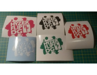 Vinyl Decals - HF Logo - 3.5in