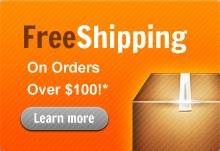 Free Shipping on orders over $100!*